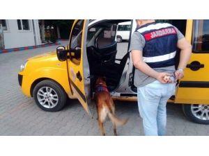-Jandarma 20 Paket Eroin Ele Geçirdi