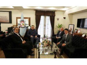 Bulgaristan Başkonsoloslarından Kesimoğlu'na Ziyaret