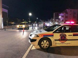 Jandarma Ekipleri Bartın'da Alkol Kontrolü Yaptı