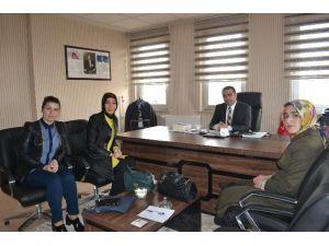AK Parti İl Başkanlığı'ndan ASP'ye Ziyaret