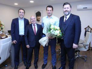 Trabzonspor'dan, hakem Volkan Bayarslan'a ziyaret