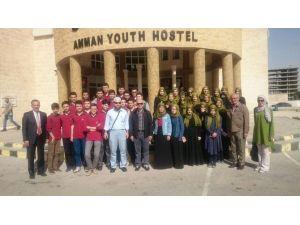 Ürdün'de Atakum İHL Öğrencileri İle Buluştular