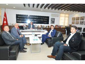 Türkiye Optik Ve Optometrik Meslekler Derneği'nden TSO'ya Ziyaret