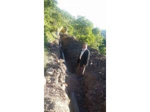 Keramet'in Su Hatları Yenileniyor