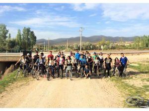 'Sağlık İçin Pedalla' etkinliği düzenlendi