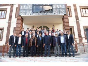 AK Parti Uşak İl Teşkilatı, Belediye Yatırımlarını İnceledi