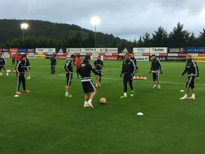 Beşiktaş, Kayserispor maçı hazırlıklarına devam etti
