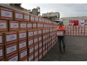 AFAD'dan Ekvadorlu Depremzedelere Yardım