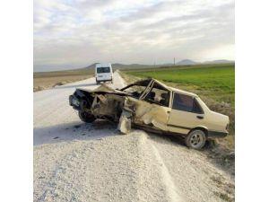 TEOG Sınavında Görevli Öğretmenler Kaza Yaptı: 5 Yaralı