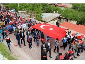 Çemişgezek'te '57'Nci Alay İçin Saygı Yürüyüşü' Yapıldı