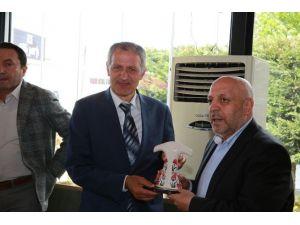 Başkan Arslan'dan Süleyman Dişli'ye Ziyaret