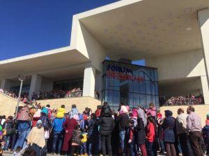 """Forum Erzurum'da """"Canım Kardeşim'' Ve ''Sihirli Kum''etkinlikleri"""