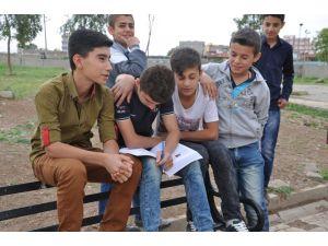 Silopili terör mağduru öğrenciler de TEOG sınavına girdi
