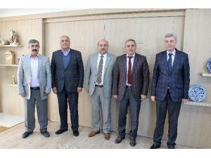 OSB Başkanı Yeşilay'dan Başkan Konak'a Ziyaret