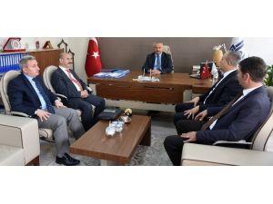 Eyowf 2017 Genel Koordinatörü Atasoy'dan Büyükşehir'e Ziyaret