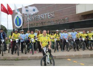 ODÜ'de Gençler Pedal Çevirdi