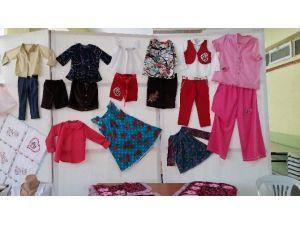 Gediz'de Halk Eğitimi Merkezi Yılsonu Giyim-nakış Sergileri Başladı