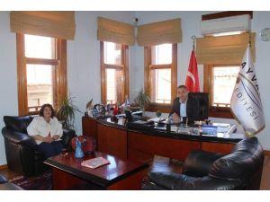 Başkan Gençer'e Ziyaret
