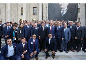 Başkan Akyol Muhtarlarla Birlikte Ankara'ya Taleplerini İletti