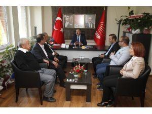 Türk-iş Tertip Komitesi'nden CHP İl Başkanlığı'na Ziyaret