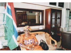 Sankon Gambiya İslam Cumhuriyeti Temsilciliğine İş Kadını Fatima Senghore Seçildi