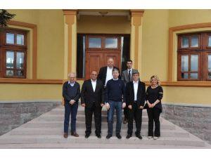 Albay İbrahim Çolak'ın Torunu Şehir Müzesini Ziyaret Etti