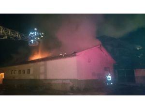 Malatya'da eski devlet hastanesinde ikinci yangın