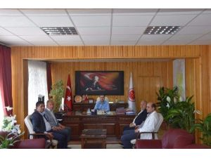 Nevşehir Ticaret Borsası Başkanı Salaş'tan Eldivan'a Hayırlı Olsun Ziyareti