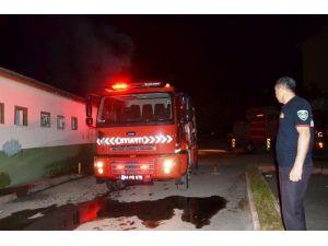 Eski Devlet Hastanesi Ek Binasında Yangın