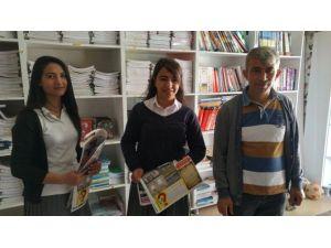 Sason'da Lise Öğrencileri Gazete Çıkardı