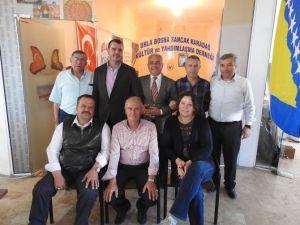 Urla Bosna Sancak Karadağ Derneği Başkanını Seçti