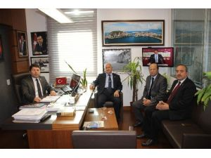 Belediye Başkanlarından Milletvekili Yılmaz Tunç'a Ziyaret