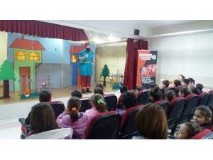 Okullarda Tiyatrolu Çevre Eğitimi Veriliyor