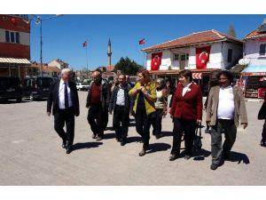 CHP'li Burcu Köksal, Kütahya'nın Gediz, Altıntaş Ve Dumlupınar İlçelerini Ziyaret Etti