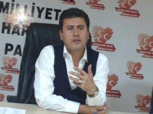 MHP'de Görevden Alınan İlçe Başkan Akgün'den Partililere Veda