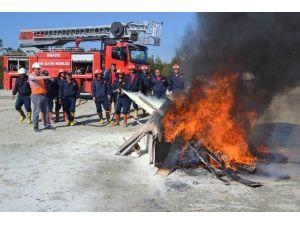 ETİ Maden'de Yangın Tatbikatı