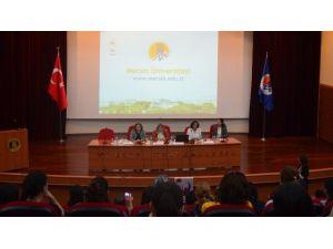 MEÜ'de 'Türkiye'de Kadın İstihdamı' Paneli