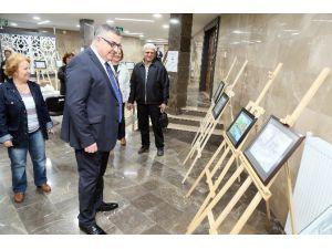 Başkan Kesimoğlu'ndan Resim Sergisine Ziyaret