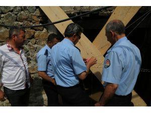 Mezitli Belediyesi, Demirışık'taki Maden Ocağının İşini Durdurdu