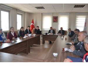 Erzurum'da İl Afet Ve Acil Durum Destek Çözüm Ortakları Toplantısı