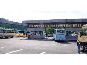 Lüleburgaz Şehirlerarası Otobüs Terminali Hizmette