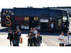 Galatasaray, deniz yoluyla Bursa'ya gitti