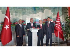 DSP heyeti, yeni Anayasa önerisini Kılıçdaroğlu'na sundu