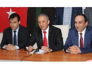 AK Parti Muğla İl Başkanlığı'nda devir teslim