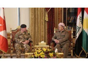Barzani, Kanada Genelkurmay Başkanı ile görüştü