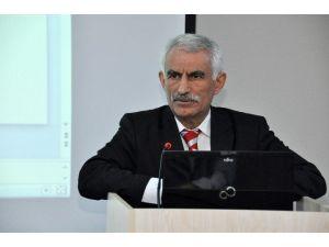 """Prof. Dr. Arabacı, NEÜ'de """"Kut'ül Amare"""" Zaferini Anlattı"""