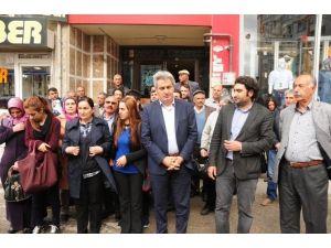 HDP Ve DBP'den Baskına Ve Gözaltıya Tepki