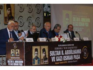 'II. Abdülhamid ve Gazi Osman Paşa' sempozyumu başladı