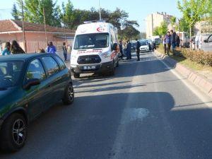 TEOG Yolunda Acı Kaza: 1 Yaralı