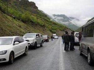 Çukurca'da Askeri Konvoya Roketatarlı Saldırı
